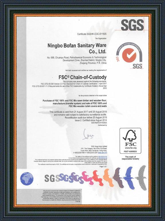 FSC Chain-of-Custody