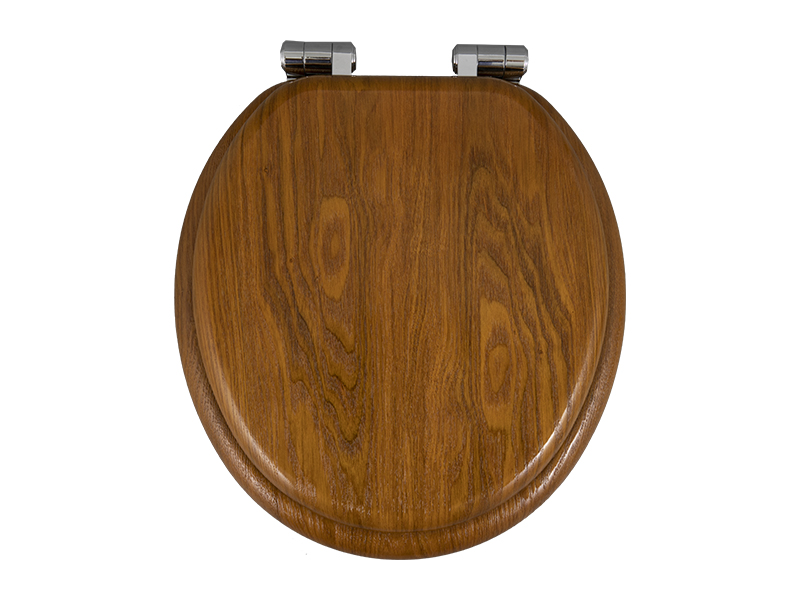 What is the difference between pp, urea-formaldehyde and acrylic toilet seats?