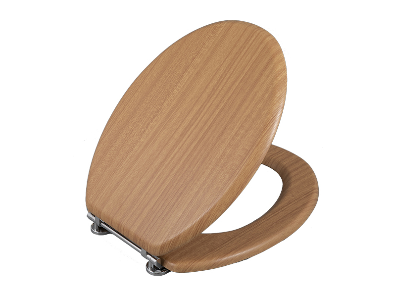 Bofan Molded laminated wood travel toilet seat for adults bidet toilet seat cover non electric