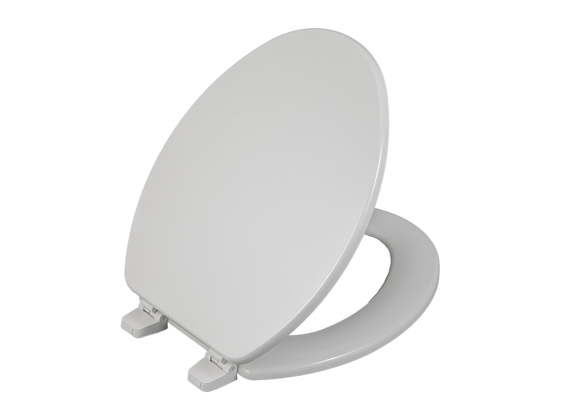 Bofan Wholesale beveled custom color bidet bowl toilet lid cover with plastic toilet seat hinges