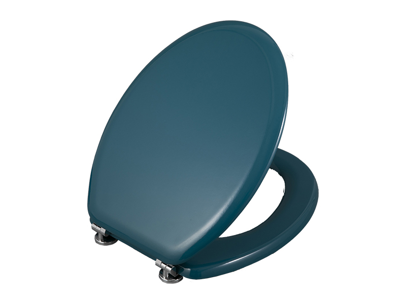 Molded coloured Wood blue cheap china modern sanitary ware wc children waterproof elongated toilet seat covers