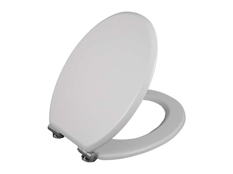 Bofan comfortable round Biodegradable PU Molded Wood Quick Release Top Mounted Easy Installation Toilet Bowl Seat Lid Cover