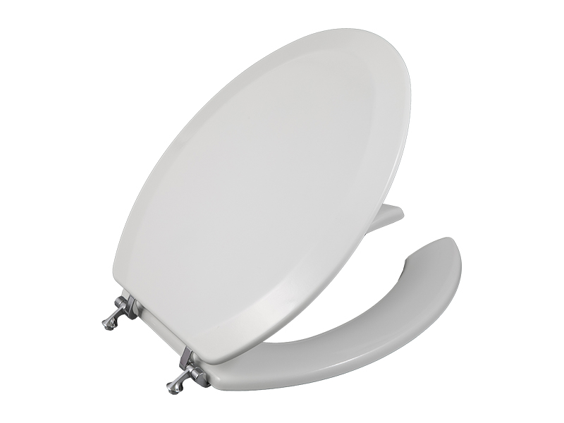 Bofan incepa Open Front Molded Wood Elongated PU Model Styled Easy Matching Kids Reusable Toilet Bowl Seat Covers